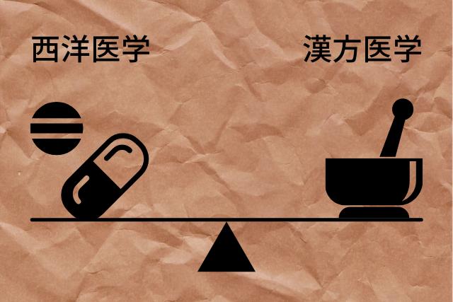 西洋医学と漢方医学