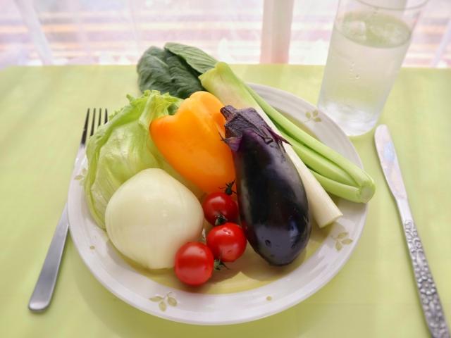 疲労回復には野菜が大切!?